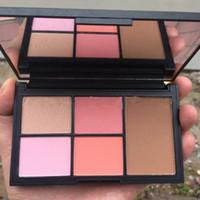 Wholesale Easy N - N@RS Makeup Blush Palettes Sets Blusher Cosmetics 5 Colors Brand Blusher Kit Makeup Powder Highlighter Bronzer Palette