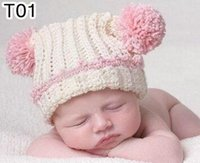 100% Handmade Crochet Knitted Cartoon Animal Hat Newborn Infant Toddler Baby Kids Headwear Inverno Crianças Beanie Customized Cap Mixed Order