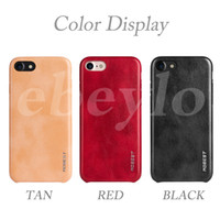 Wholesale Elite Cases - MOBEST Elite Series PU Leather Phone Case Shock-proof Back Cover Shell High-Quality Cases For iPhone 7 6 Plus Samsung S7 Edge S8 Plus