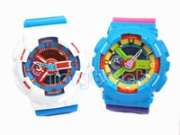 Wholesale Colorful Digital Watches - Colorful colors for relogio G110 men'ssports watches,digital wristwatch watch,dropshipping