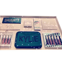 New Kylie Christmas Collection Set Naughty Nice Eyeshadow The Wet Set Velvet Liquid Lipstick Lip Liner By Kylie Jenner Cosmetics