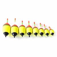 nachtsicht leuchtend großhandel-Großhandel-New Knicklicht Night Bobber EVA Elektrische Beleuchtung Schwimm Wasser Float Tube Luminous Fishing Float Nachtsicht 1 STÜCK
