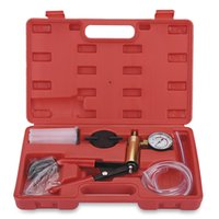 Mano Vacuum Pump Held Tester e Brake Bleeder Bleeding Tool Kit diagnostico Tester Tools per auto può Bike