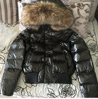 Wholesale Fur Coat Sales - Hot Sale Women Winte Down Jacket warm and thicker with 100 % white duck As fashion stlye real recoon biggest fur on the hood coat