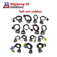Wholesale Digiprog Full Set - Digiprog III Odometer Correction tool Digiprog 3 mileage correction tool full set cables DHL free shipping
