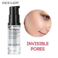 Wholesale Line Gel - All Matte PORE INVISIBLE Foundation Primer Mattifying Pore Minimizing Primer Smooth Fine Lines Oil-control Face Makeup Primer 6ml