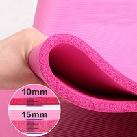 Wholesale widen and enlarge high quality wide NBR Multifunction Yoga Mat mm Anti skid Yoga Mat