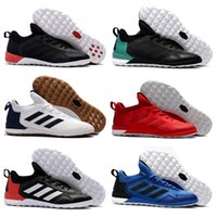 Wholesale Best Indoor Soccer Shoes - Adidas Originals 2018 ACE Tango 17 + Purecontrol IC Best Quality Wholesale Cheap Indoor Soccer Shoes Predator Football Boots Shoes
