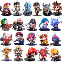 Wholesale Toy Garage Kits - Cute League of Legends Action Figure Toys Kawaii Collect Game Anime Model Garage Kit with box gifts
