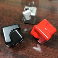 Wholesale Transformer Toy Wholesale - Newest Fidget Cube Hand Spinner Transformer Fidget Spinner Aluminum Alloy Polished Color Hand Spiral Gyro Decompression Toys