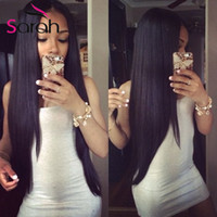 Wholesale Cheap Malaysian Body Wave Mix - Brazilian Virgin Hair Straight Body Wave Weaves Bundles 3 4 Pcs Lot Unprocessed 7A Brazillian Remy Human Hair Extensions Cheap Tangle Free