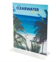 Wholesale Wholesale Literature Holders - A4 poster frame desktop label holder literature frame stand tabletop