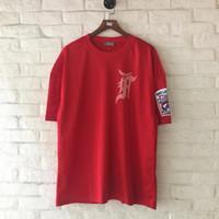 Wholesale Large Animal Net - Men's Hip-Hop T-shirt Tide Big Size 2017 New Loose large code net breathable high quality T-shirt season Fear of god Justin Biebe