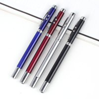 Wholesale Multi functional metal pen with multi function electroplating touch screen pen laser capacitance pen