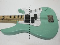 Wholesale Custom Bass Guitar Newest Green Strings Electric Bass High Quality Top Musical instruments