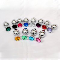 Wholesale Ass Plugs Jewelry - 90*40MM big Metal Anal Sex Toys For Woman & Man, Stainless Steel Enticing Jewelry Butt Plug. Large Ass Beads Products AS024M BY DHL