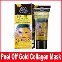 Wholesale Black Mask Collagen - Gold Collagen Mask Lot Black Face Mask Peeling Off Blackhead Remover Face Mask Facial Skin Care