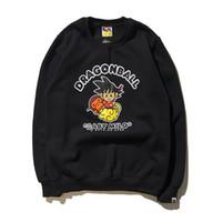 Wholesale Naturals Themes - New Arrival Autumn Winter Japanese Animation Dragon Ball Theme Cotton Fleece Hoodie Sweater Couple Hip Hop Sweatshirts Tops
