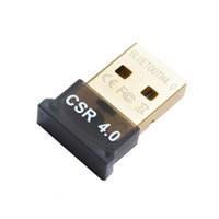 bluetooth pour vista achat en gros de-USB Bluetooth Adaptateur V4.0 double mode sans fil Dongle Pilote gratuit USB 2.0 / 3.0 20m 3Mbps pour Windows 7 8 10 XP Vista