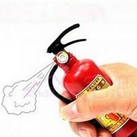 Wholesale Plastic Toy Fire Extinguisher - New strange creative whole small toy water gun super fun plastic children fire extinguisher water spray gun wholesale