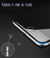 Wholesale Blue Side Cover - IPhone 6 Plus tempered glass film protective film 3D soft side full screen cover anti-purple blue iphone6s i6 4.7 and 5.5