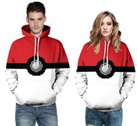 New fashion clothes with hat Poke 3D casual Hoodies Elf Ball stampa 3D per uomo donna Abbigliamento all'ingrosso