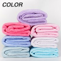 Wholesale Towel Textile Wholesale - Soft Face Towel Coral Fleece Towels Of Strong Water Imbibition 34*80CM Washcloth Towel Super Absorbent Home Textile