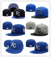 Wholesale 2017 new Kansas City Royals Fitted Hats for men women sports hip hop mens bones sun hats