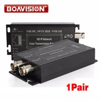 Wholesale Coax Coaxial - 1Ch HD IP POE Extender Coaxial Converter Extender Support Long Transmission Distance Power Coax,Range Up To 2500M,PoE-af&PoE-at