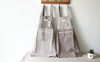 Wholesale Top Selling Stripe Bib Kitchen Cooking Apron Funny Novelty Keep Cleaning BBQ Party Naked Rude Cheeky Aprons Cook Tool