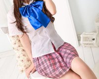 Wholesale Cheapest Sexy Costumes - Cheapest Sexy Lingerie Student Uniform Cosplay Sexy Lingerie Pink