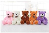 Wholesale Teddy Bear 72 - 2017 New Giant Teddy Bear 72 inch 180 CM Feet Teddy Bear Stuffed Light Brown Giant Jumbo Valentine's Day Birthday Gift