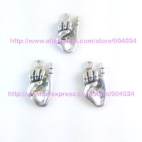 Wholesale Greek Rings - Wholesale-Greek Sorority AKA hand signals Charm With ring fit bracelet 20pcs 1 lot
