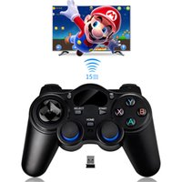 Wholesale Cheap Ps4 - Cheap Mini Game Controller 2.4Ghz Wireless Game Handle Controller Remote Joystick For Android Smart TV PC