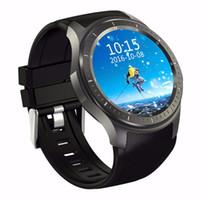 электронная почта google android оптовых-DM368 SmartWatch Android 5.1 OS мобильный телефон смарт-часы 8G Bluetooth 4.0 3G WCDMA Wifi монитор сердечного ритма GPS поддержка Google app HD экран