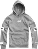 Wholesale Hood Jumpers - Wholesale-Spring 2016 Autumn Men Women Hba Hiphop Hooded Pullovers Skateboard Hoodies Hood By Air Hoody Sweatshirtss Plus Size Jumpers