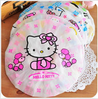Wholesale Bathing Cap Child - Mix style Cute Shower Bathing Cap Hat Shower caps Hair cap bath cap Plastic shower cap Bathing Children casquette bain