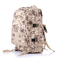 Wholesale Tactical Mountaineering Packs - 36-55L Large Capacity Army Fans Packed Camping Outdoor Mountaineering Shoulder Camouflage Backpack Tactical 3D Backpack Sports Bag
