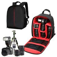 Wholesale Waterproof Case For Digital Camera - Genuine Video Digital Camera Bag Backpack Bag Nikon Case Waterproof Shockproof Small Bags For Canon Nikon