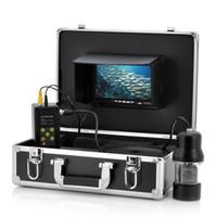 Wholesale Underwater Fishing Dvr - 50m DVR 360 Degree rotation CCD Underwater fish finder video Camera underwater vieo camera underwater fish camera 360 degree fish finder