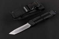 Wholesale Tech Sale - Sale MICRO TECH Scarab T head single front automatic knives tactical knife camping survival EDC knife 440c blade auiation aluminum handle