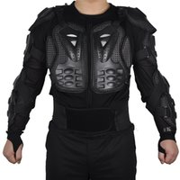 Wholesale Brand Motorcycle Gear - SALETU Brand Professional Motorcycle Body Protection Motocross Racing Body Spine Chest Protective Jacket Gear anti falling cloth 2518003