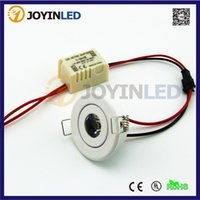 Wholesale White Jewelry Show Case - Wholesale- 10pcs lot Jewelry Show Case Cabinet Spot Lamp White MINI LED Downlight 3W