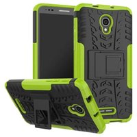 Wholesale Wholesale Speed Covers - Kickstand Armor Case Shockproof Defender Hard Back Cover For Moto E3 Power M Vodafone Smart Speed 6 Alcatel Flash 2 Pixi 4 Pop 4S 4 Plus