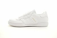 Wholesale High Quality Best Sneakers - Best X Powerphase White Discount Cheap 2017 High Quality Calabasas Men Women Sneakers White leather upper with lateral Calabasas CQ1693
