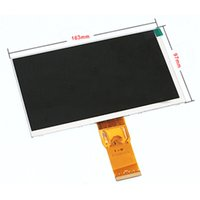 "Wholesale Matrix Module - Wholesale- New LCD display matrix 7"" Explay Hit 3G 50pin 103*97mm 1024*600 inner LCD Screen Panel Module Replacement Free Shipping"