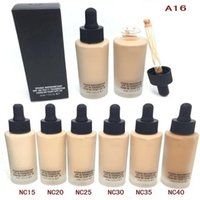 Wholesale Normal Water - NC Liquid Foundation Concealer Studio Waterweight 6 color BB cream free gift DHL free ship
