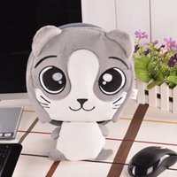 Wholesale Wrist Heat Pads - Winter Warm Mouse Pad Thick Cartoon Plush Hand Warmer Heated Mouse Mat USB Port with Wristguard