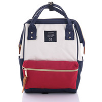 lindas mochilas para la universidad al por mayor-Al por mayor- Nuevo 2017 Japón Mochilas escolares para adolescentes Mochila escolar linda para la escuela Bolso de la universidad para mujeres Anello Ring Backpack