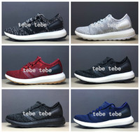 Wholesale Blue Snowflake Fabric - 2017 Ultra Boost Running Shoes Men Women Blue White Black Ultra Pure Boost ub 3.0 Snowflake Ultraboost Sports Sneakers Size Eur 36-45